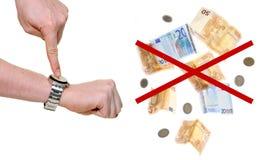 αργά καμία πληρωμή επίσης Στοκ φωτογραφία με δικαίωμα ελεύθερης χρήσης
