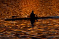 Αργά το απόγευμα άσκηση Στοκ φωτογραφία με δικαίωμα ελεύθερης χρήσης