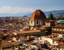 Αργά το απόγευμα στη Φλωρεντία στοκ εικόνα με δικαίωμα ελεύθερης χρήσης