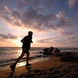 αργά τρέχοντας Στοκ Φωτογραφία