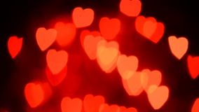 Αργές κινούμενες καρδιές απόθεμα βίντεο