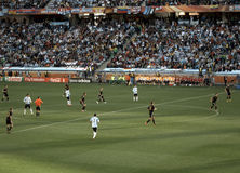 Αργεντινή Γερμανία εναντί&omicr Στοκ Φωτογραφία