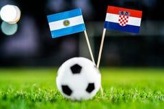 Αργεντινή - Κροατία, ομάδα Δ, Πέμπτη, 21 Ποδόσφαιρο Ιουνίου, Worl στοκ εικόνες