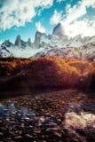 Αργεντινή Fitz Roy Στοκ Φωτογραφίες