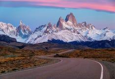 Αργεντινή Fitz Roy Στοκ φωτογραφίες με δικαίωμα ελεύθερης χρήσης