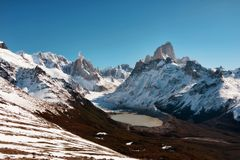 Αργεντινή Fitz Roy Στοκ εικόνες με δικαίωμα ελεύθερης χρήσης