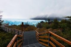 Αργεντινή Perito Moreno Glacier Στοκ φωτογραφίες με δικαίωμα ελεύθερης χρήσης