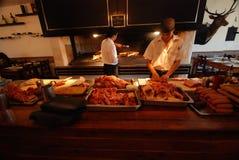 αργεντινό asado Στοκ φωτογραφία με δικαίωμα ελεύθερης χρήσης