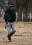 Αργεντινό gaucho Στοκ φωτογραφία με δικαίωμα ελεύθερης χρήσης