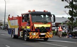 αργό οδηγώντας πυροσβεστικό όχημα Στοκ Εικόνες