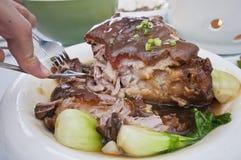 αργό χοιρινό κρέας αποκοπών Στοκ εικόνες με δικαίωμα ελεύθερης χρήσης
