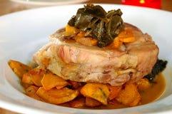 αργό roast χοιρινού κρέατος Στοκ εικόνα με δικαίωμα ελεύθερης χρήσης