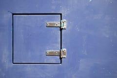 Αρθρωμένη πόρτα μετάλλων στοκ εικόνα με δικαίωμα ελεύθερης χρήσης