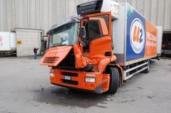 Αρθρωμένο φορτηγό στοκ φωτογραφίες με δικαίωμα ελεύθερης χρήσης