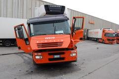 Αρθρωμένο φορτηγό στοκ φωτογραφία με δικαίωμα ελεύθερης χρήσης