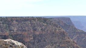 Αριζόνα, μεγάλο φαράγγι, σχηματισμός βράχου Α στο νότιο πλαίσιο του μεγάλου φαραγγιού φιλμ μικρού μήκους