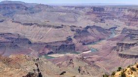 Αριζόνα, μεγάλο φαράγγι, τηγάνι Α πέρα από το μεγάλο φαράγγι και ποταμός του Κολοράντο φιλμ μικρού μήκους