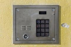 αριθμητικός παλαιός κλειδωμάτων αριθμητικών πληκτρολογίων πορτών διανυσματική απεικόνιση