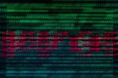 Αριθμητικός συνεχής, abctract στοιχεία στο δυαδικό κώδικα, δίνει την κατάρριψη τεχνολογίας στοκ εικόνες