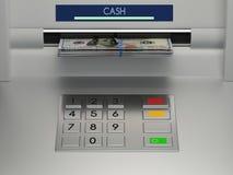 Αριθμητικό πληκτρολόγιο μηχανών του ATM Στοκ Φωτογραφίες