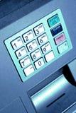 αριθμητικό πληκτρολόγιο του ATM Στοκ εικόνες με δικαίωμα ελεύθερης χρήσης
