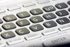αριθμητικό πληκτρολόγιο Στοκ φωτογραφίες με δικαίωμα ελεύθερης χρήσης