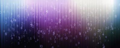 Αριθμητικό σχεδιασμένο υπόβαθρο Στοκ εικόνα με δικαίωμα ελεύθερης χρήσης