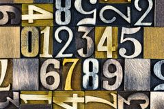 123 αριθμοί εκπαιδευτικού υπολογισμού Στοκ Φωτογραφίες