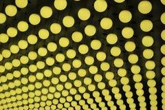 Αριθμοί επιφάνειας από τις κίτρινες σφαίρες Στοκ Εικόνες