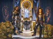 Αριθμοί κεριών προσωπικοτήτων κινηματογράφων Warcraft Στοκ εικόνες με δικαίωμα ελεύθερης χρήσης