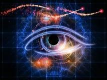 αριθμοί ματιών διανυσματική απεικόνιση