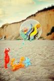 αριθμοί μπαλονιών Στοκ Φωτογραφίες