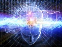 αριθμοί μυαλού Στοκ φωτογραφία με δικαίωμα ελεύθερης χρήσης