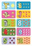 Αριθμοί μωρών Στοκ φωτογραφία με δικαίωμα ελεύθερης χρήσης