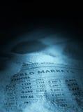 αριθμοί οικονομικοί Στοκ εικόνες με δικαίωμα ελεύθερης χρήσης