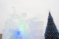 Αριθμοί πάγου στη Μόσχα Στοκ Εικόνες