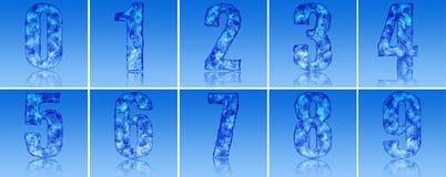 αριθμοί πάγου Στοκ φωτογραφία με δικαίωμα ελεύθερης χρήσης