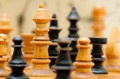 Αριθμοί παιχνιδιών σκακιού Στοκ Εικόνα