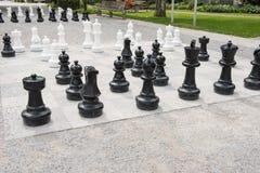 Αριθμοί σκακιού για έναν αγωνιστικό χώρο με το αρχισμένο μέρος Στοκ Εικόνες