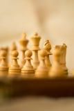 Αριθμοί σκακιού για έναν πίνακα σκακιού Στοκ Εικόνες