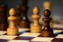 Αριθμοί σκακιού για μια σκακιέρα Στοκ φωτογραφία με δικαίωμα ελεύθερης χρήσης