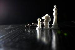Αριθμοί σκακιού μερών Στοκ εικόνες με δικαίωμα ελεύθερης χρήσης