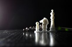 Αριθμοί σκακιού μερών Στοκ εικόνα με δικαίωμα ελεύθερης χρήσης