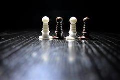 Αριθμοί σκακιού μερών Στοκ Φωτογραφίες