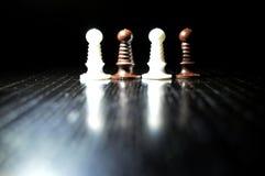Αριθμοί σκακιού μερών Στοκ Φωτογραφία