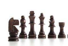 Αριθμοί σκακιού που απομονώνονται Στοκ Εικόνα