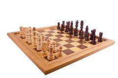 αριθμοί σκακιού χαρτονιών Στοκ εικόνα με δικαίωμα ελεύθερης χρήσης