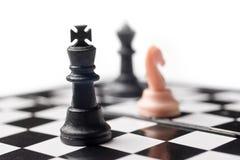 αριθμοί σκακιού χαρτονιώ&nu Στοκ Εικόνες
