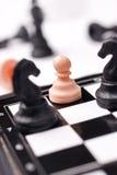 αριθμοί σκακιού χαρτονιώ&nu Στοκ φωτογραφίες με δικαίωμα ελεύθερης χρήσης