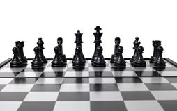 αριθμοί σκακιού χαρτονιώ&nu Στοκ Εικόνα